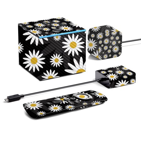 Floral Collection of Skins For Amazon Fire TV Cube (2020) Falling Water Wall Mount