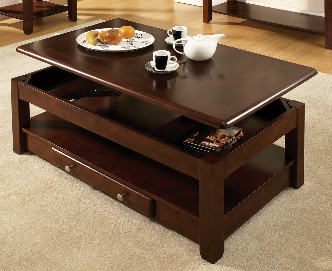 Steve Silver Furniture Nelson Lift Top Coffee Table