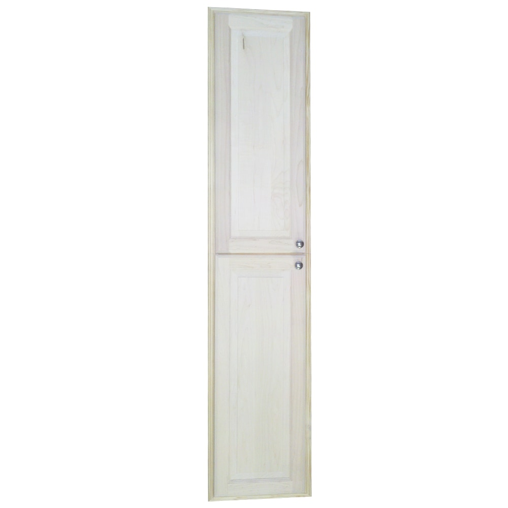 WG Wood Products Baldwin 72-inch Natural Recessed Pantry ...