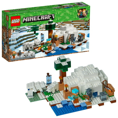 LEGO Minecraft The Polar Igloo 21142 Building Set (278
