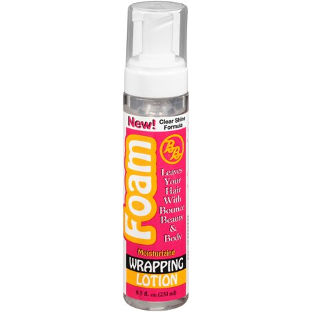 - BB® Foam Moisturizing Wrapping Lotion 8.5 fl. oz. Pump