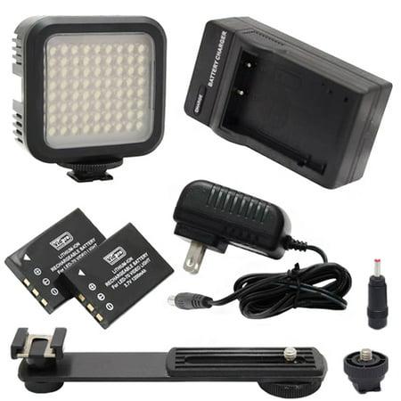 Digital Camera Lighting Compatible with Leica Q2 Digital Camera Lighting 5600K Color Temperature, 72 LED Array Lamp - Digital Photo & Video LED Light Kit