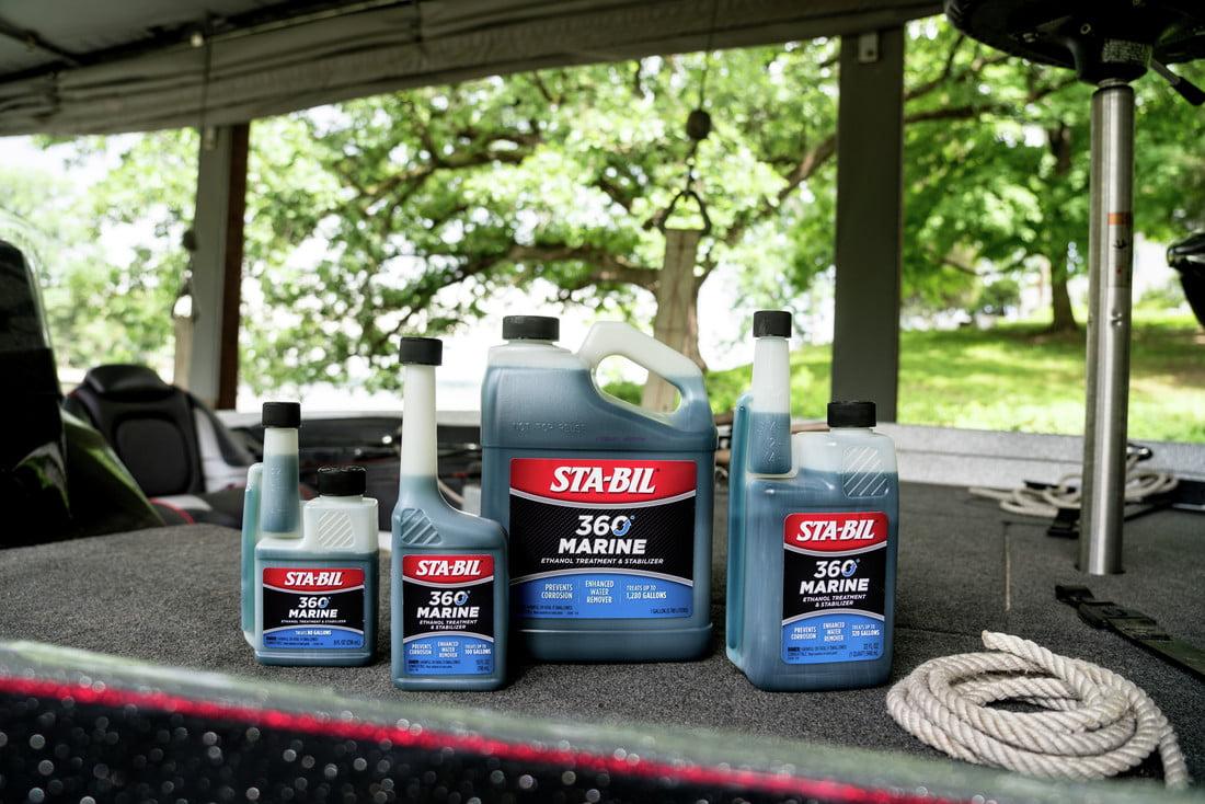 STA-BIL (22250) 360 Marine Ethanol Treatment, Fuel Stabilizer, 1 Gallon
