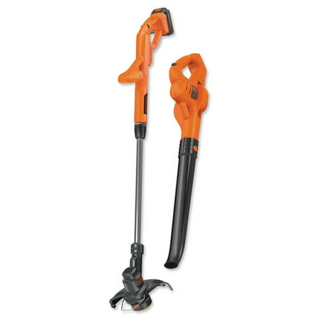 BLACK+DECKER LCC221 20V MAX 10-Inch Lithium-Ion 1.5Ah String Trimmer & Sweeper Combo Kit