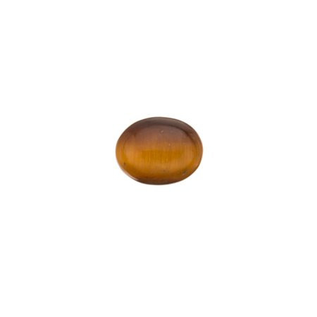 Tiger Eye Natural Simi Precious Stone cabochons 7x9mm Oval flat back Gemstone 5cnt. (Natural Cabochon Tiger Eye)
