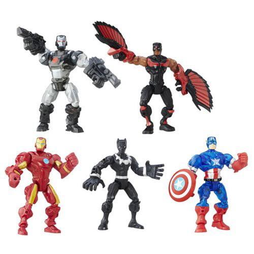 Hasbro Marvel Super Hero Mashers Multi-Pack Action Figure...