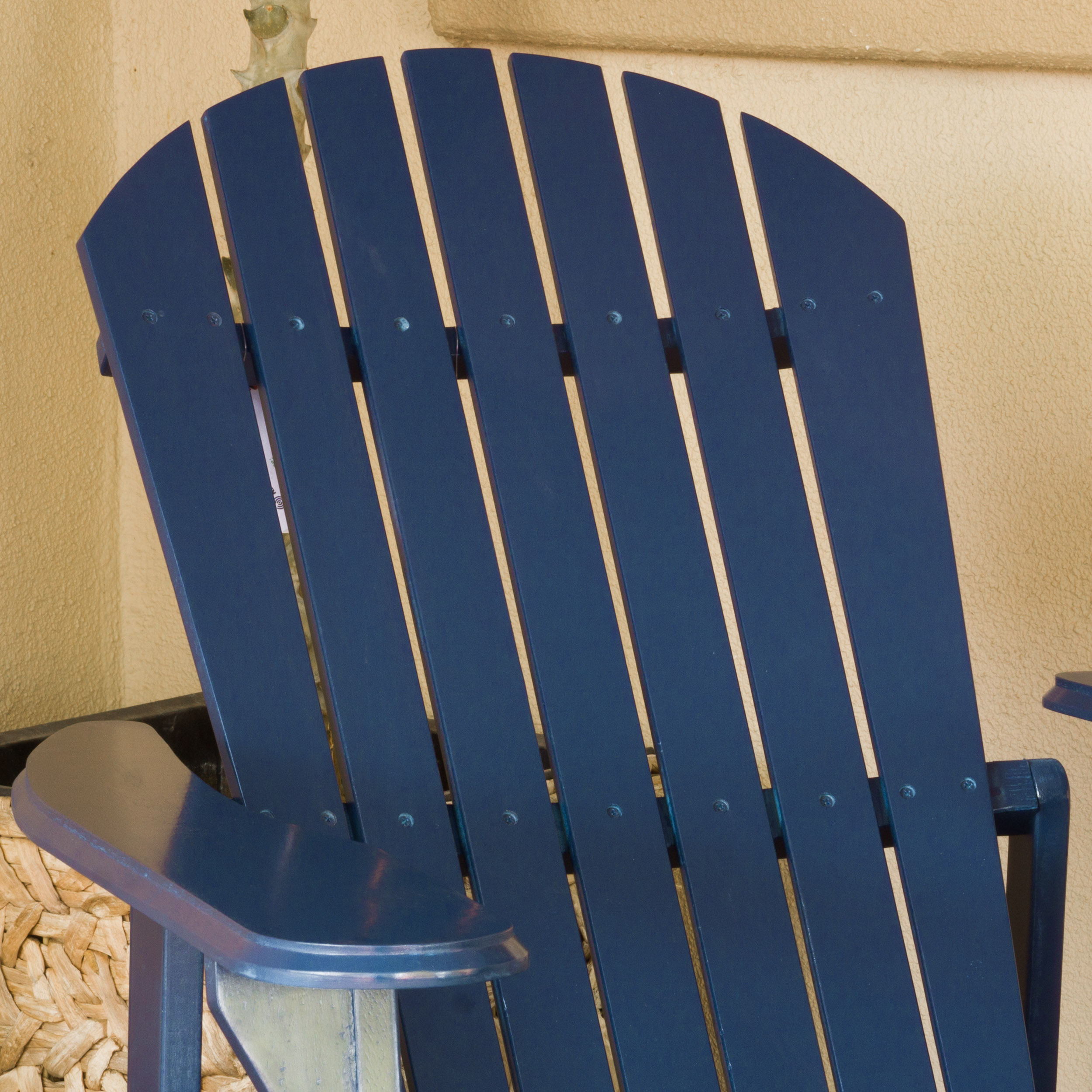 Milan Outdoor Folding Wood Adirondack Chair - image 2 of 4