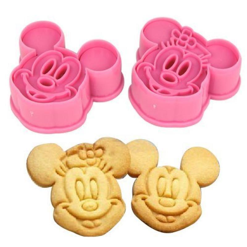 SODIAL(TM) 2pcs Mouce Cookie Cutter Fondant Cake Sugarcraft Crafts Mold Bakeware