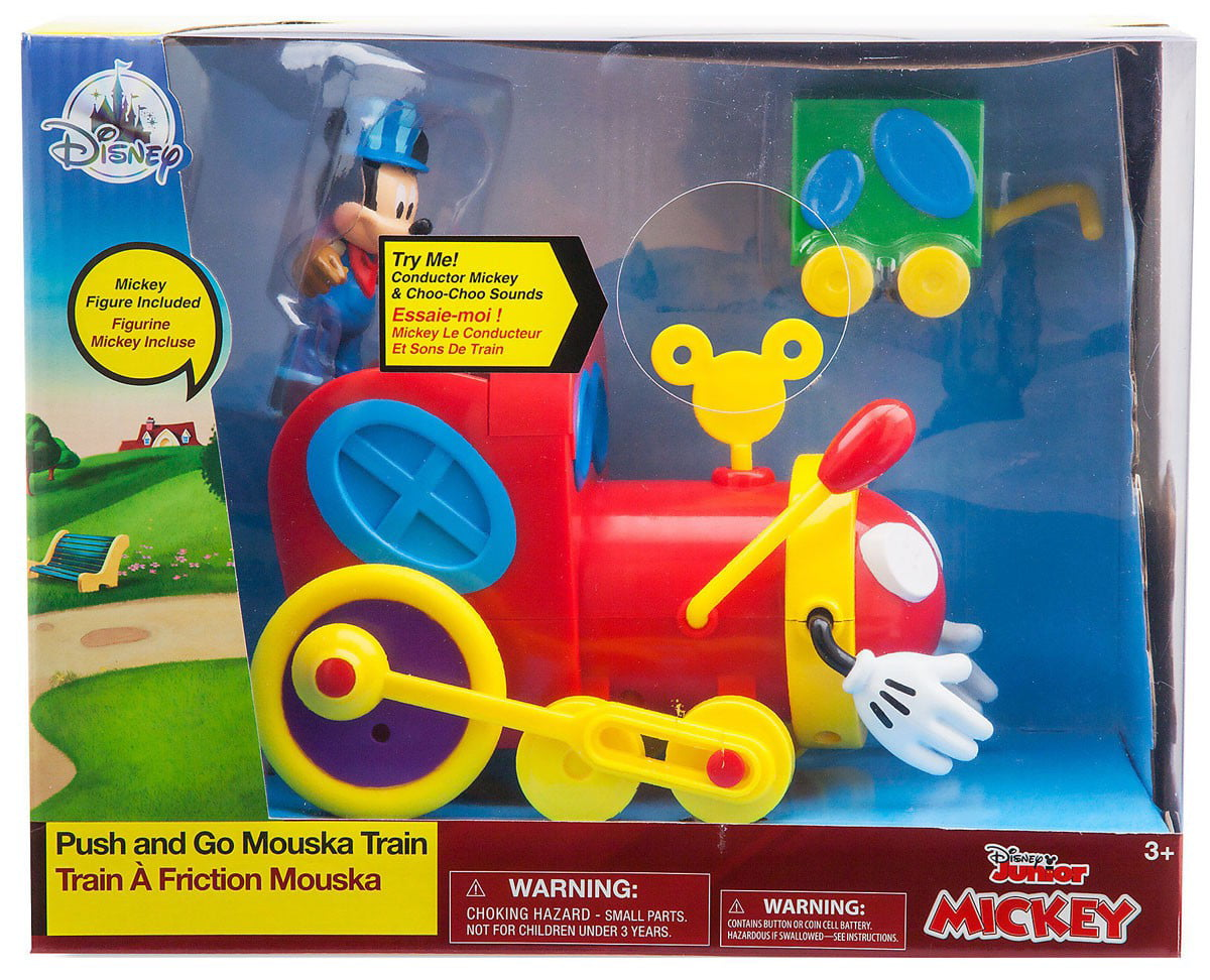Disney Mickey Mouse Clubhouse Push & Go Mouska Train by