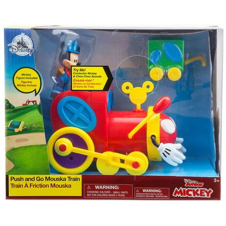 Disney Mickey Mouse Clubhouse Push & Go Mouska Train