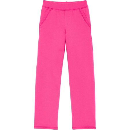 Open Leg Fleece Sweatpant with Pockets (Little Girls & Big Girls) - Cute Dresses For Girls 10-12