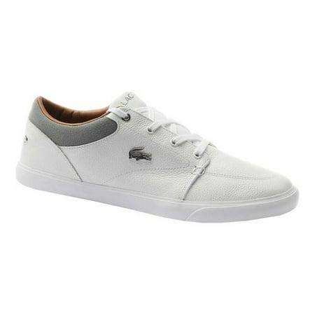Lacoste Bayliss 118 1 U Sneaker - White Gray - Mens - 9 ()
