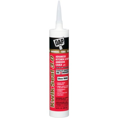 Dap 00790 9 oz White DAP ® 3.0â ¢ Kitchen, Bath & Plumbing HP Sealant