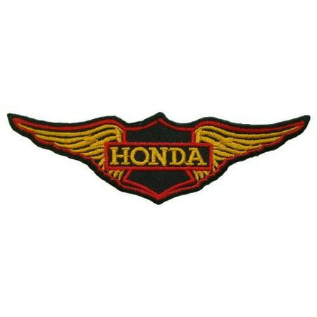 Honda Logo Patch - Honda Twin Wing Motorcycles Vintage Biker 5