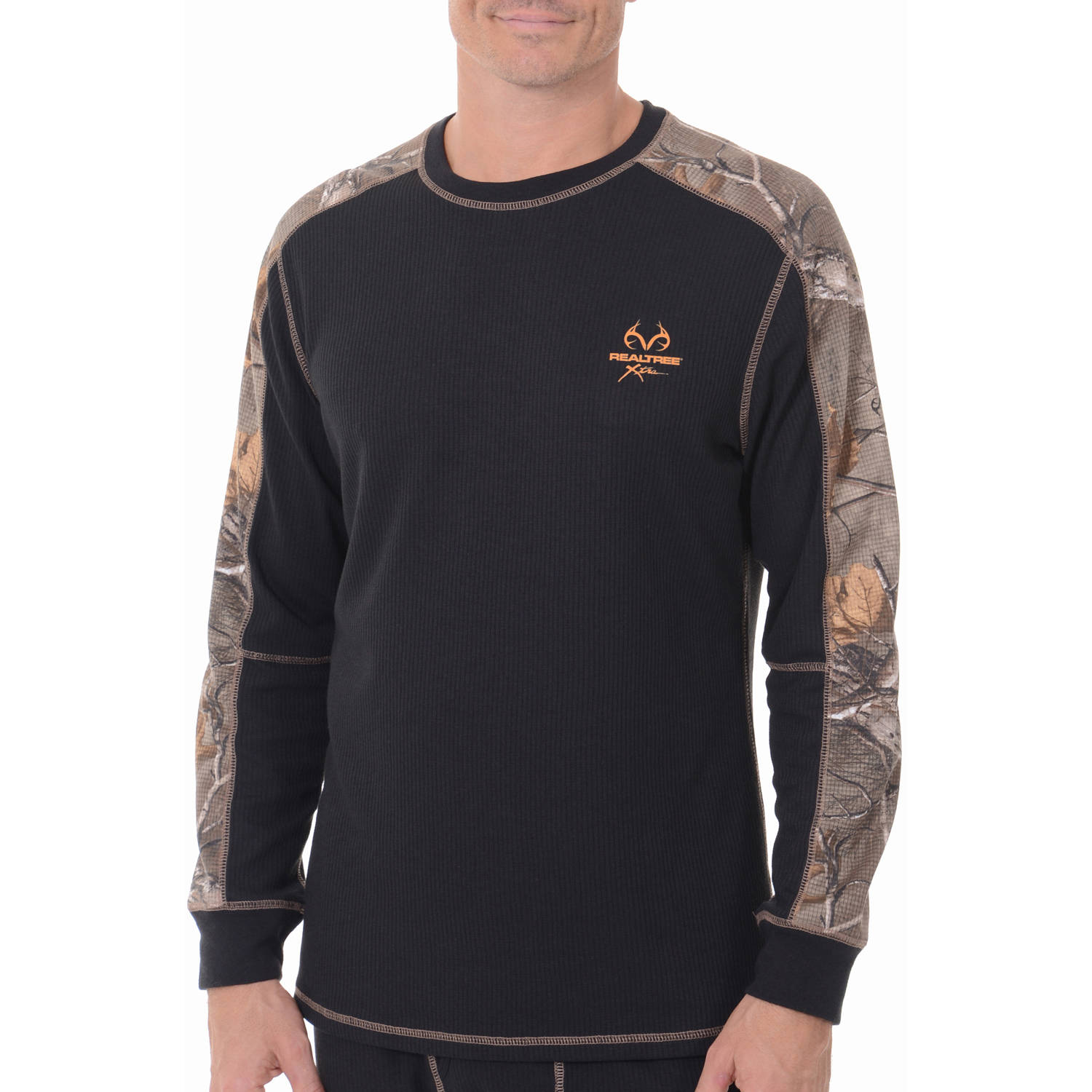 Realtree Mens Midweight Performance Thermal Top