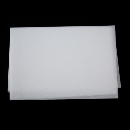 72 Inch Projection Screen Curtain Non-Woven Fabric White Soft - image 3 of 8