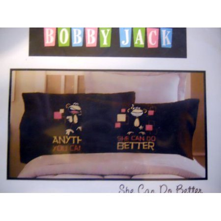 Reversible Pillowcase - She Can Do Better, One Standard Pillowcase By Bobby Jack