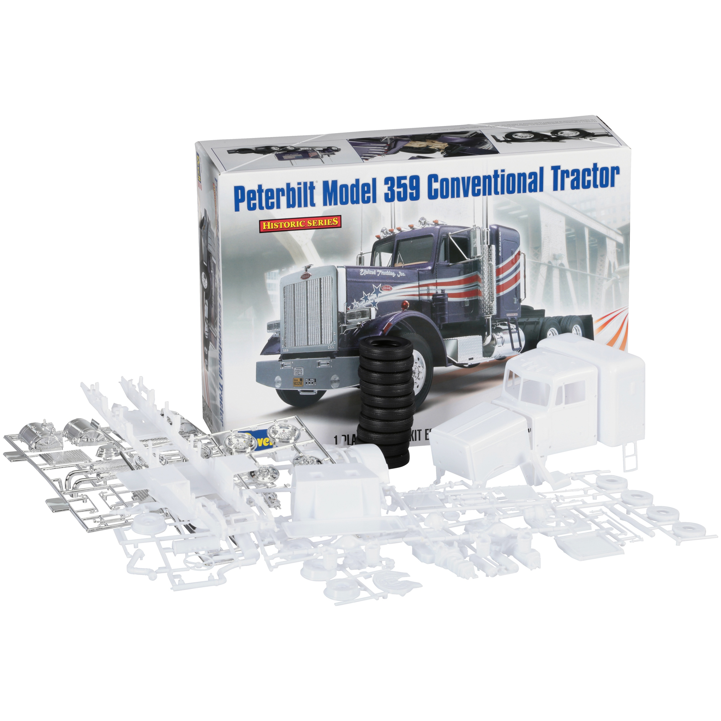 Revell® Peterbilt® Model 359 Conventional Tractor Kit 116 pc Box