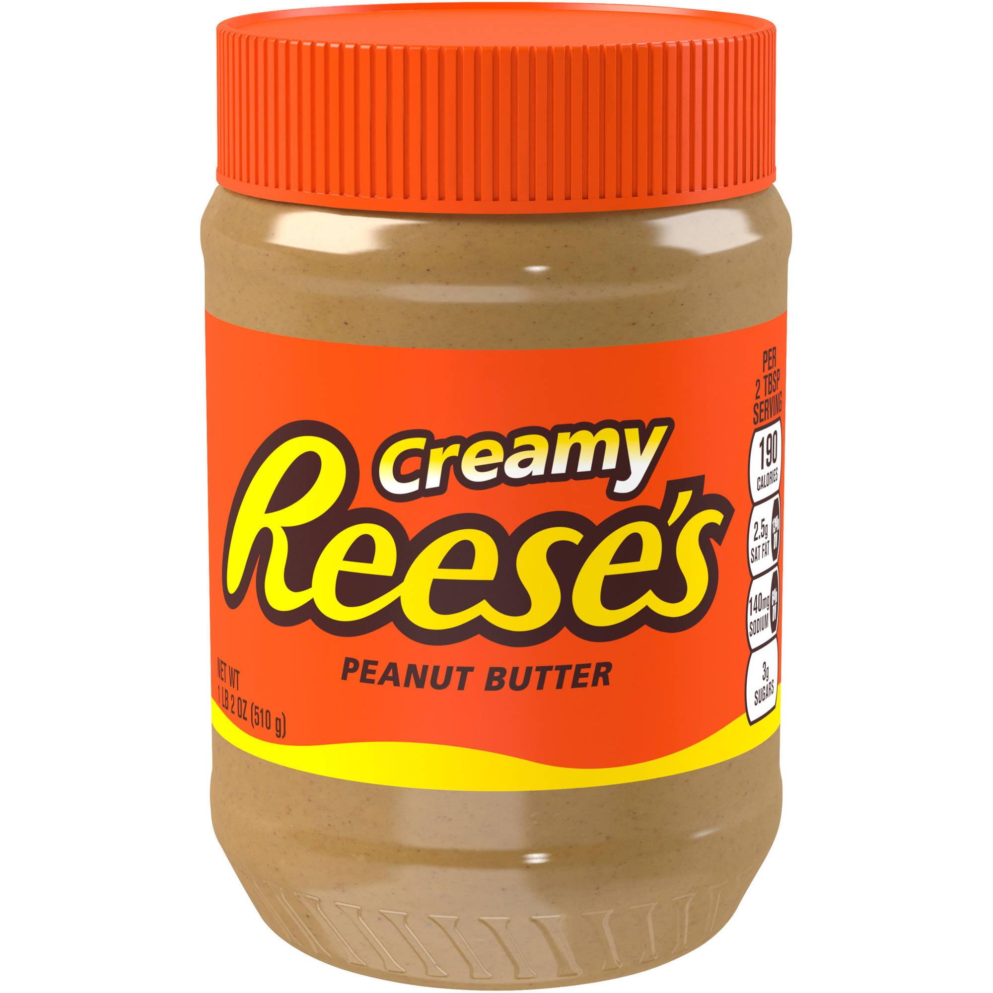 Reese's Creamy Peanut Butter, 18 oz
