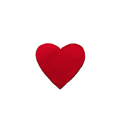 - Altotux Red Heart Sew on Patch Applique Sewing Notions Romantic Love Valentine's Day DIY Craft Supplies By 2 Pieces (1.25
