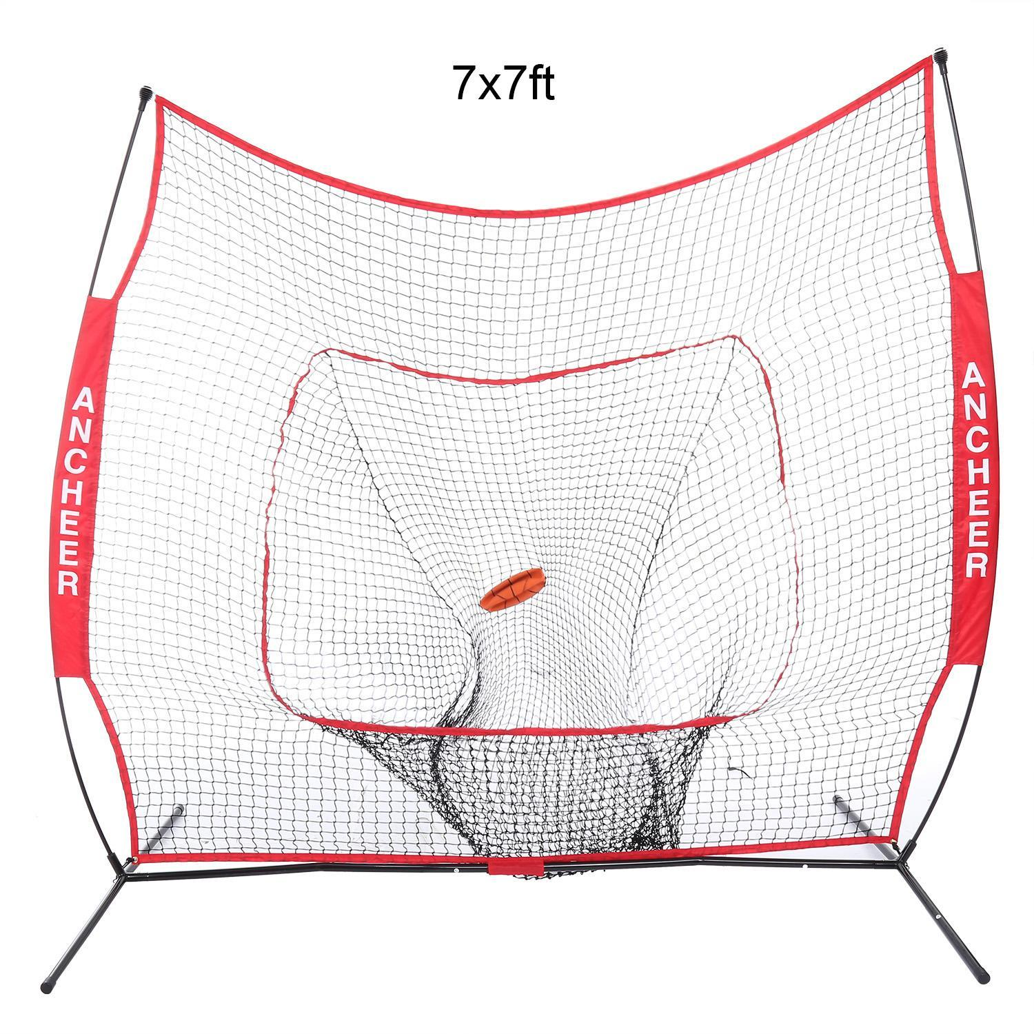 Kimimart Backstop Screen Equipment Training Aids 7 x 7ft ...