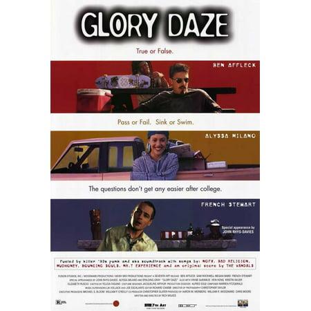 Glory Daze Poster Movie  27X40