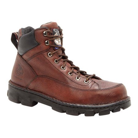 details for buy popular coupon code Men's Georgia Boot G63 Wide Load Eagle Light Safety Toe Work Boot ...