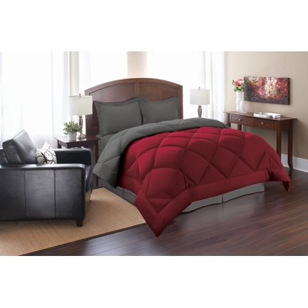 Elegant Comfort Goose Down Alternative Reversible 3pc Comforter Set- Available In A Few Sizes And Colors , King/Cal King,