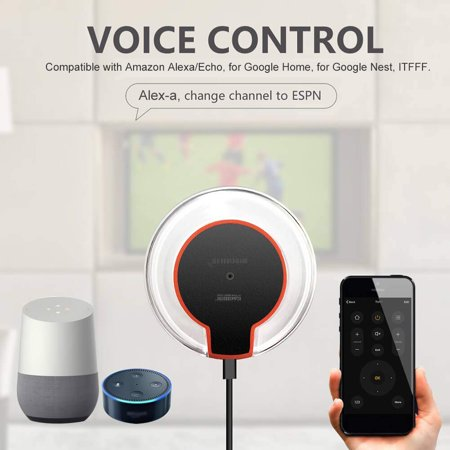 EACHEN WiFi-IR Remote IR Control Hub Wi-Fi() Enabled Infrared Universal  Remote Controller For Air Conditioner TV DVD Using Tuya Smart Life APP