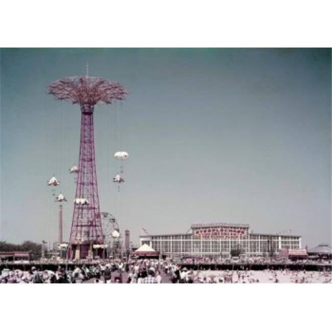Posterazzi SAL255422663 USA New York City Coney Island Steeplechase Park Poster Print - 18 x 24 in. - image 1 of 1