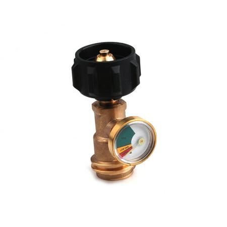 Okeba Propane Tank Gauge Gas Level Pressure Meter Indicator Leak Detector Grill BBQ