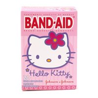 Band-Aid Childrens Adhesive Bandages, Assorted Sizes, Hello Kitty - 20 Ea (Childrens Hello Kitty Vans)