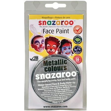 Snazaroo Face Paint 18ml-Silver