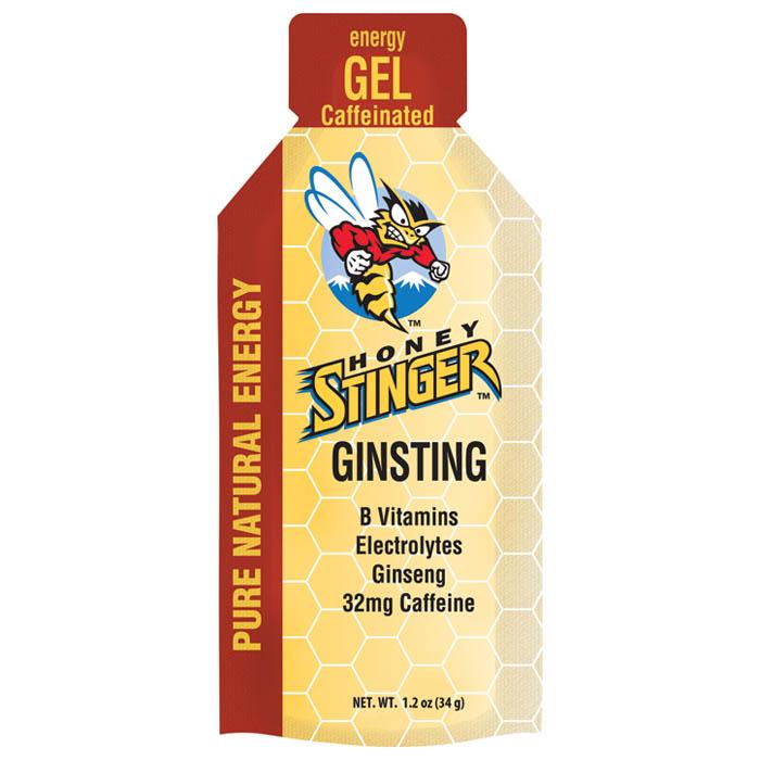HONEY STINGER ENERGY GEL GINSTING 24x34g PACKETS