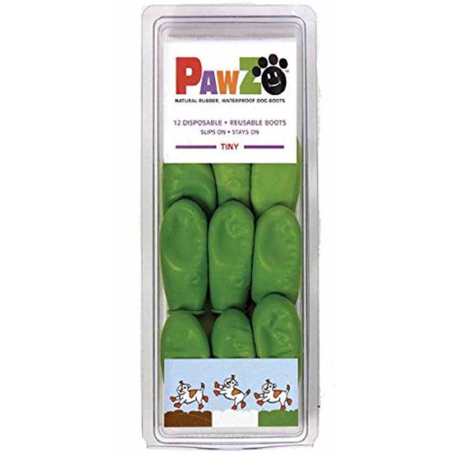 Pawz Natural Rubber Dog Boots, 12pk