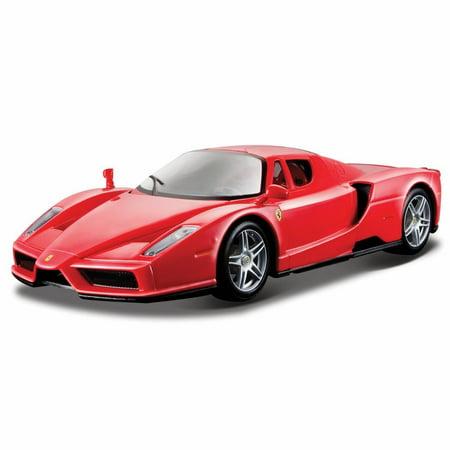 Enzo Ferrari, Red - Bburago 26006 - 1/24 scale Diecast Model Toy Car (Bburago 1 24)