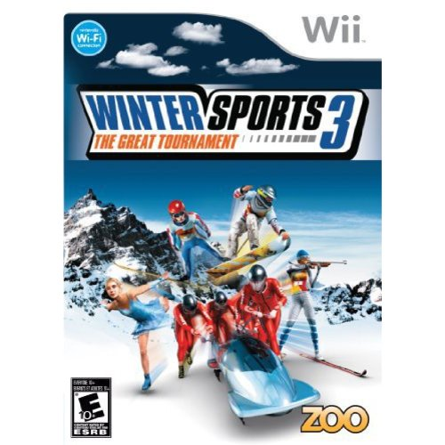 winter sports 3: the great tournament - nintendo wii