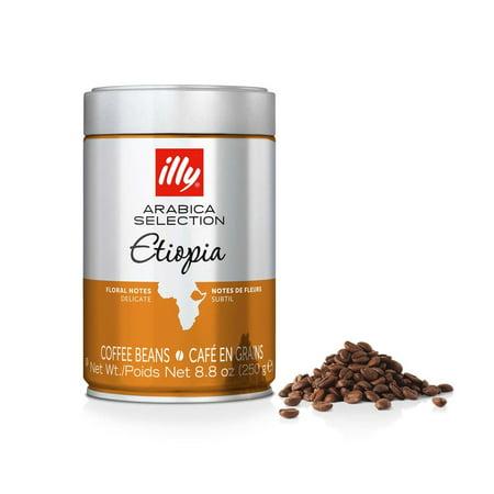 illy Arabica Selection Whole Bean Etiopia Coffee, 8.8 Oz, Single Tin ()
