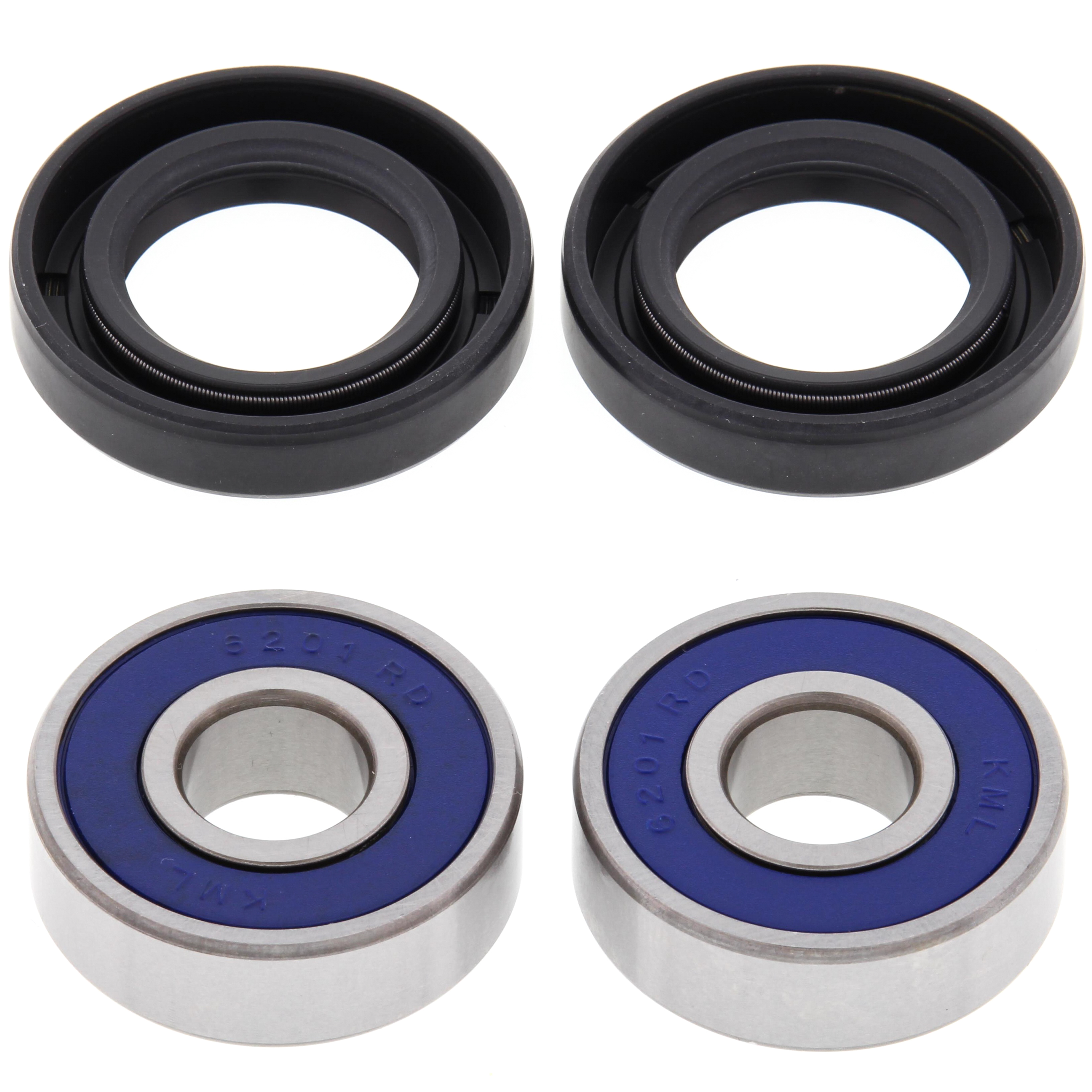 New All Balls Front Wheel Bearing Kit 25-1172 for Suzuki RM 80 1990 1991 1992 1993 1994 1995 1996 1997 1998 1999 2000 2001 90 91 92 93 94 95 96 97 98 99 00 01, RM85 2017 17
