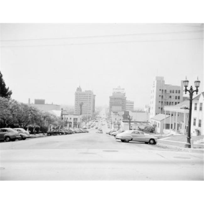 Posterazzi SAL255421535 USA Looking South on Vine Street Poster Print - 18 x 24 in. - image 1 de 1