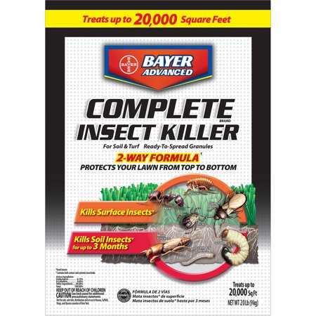 Bayer Complete Insect Killer (Bayer Advanced Complete Insect Killer, 20 lbs, Granules )