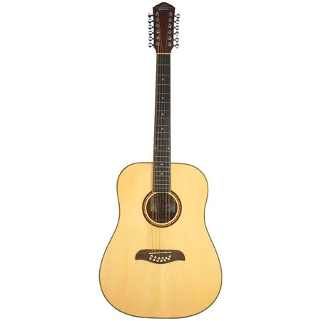 - Oscar Schmidt OD312 Natural 12-String Dreadnought Guitar