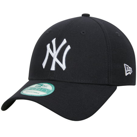New York Yankees New Era Men's League 9Forty Adjustable Hat - Navy - OSFA (Clothing Elizabethan Era)