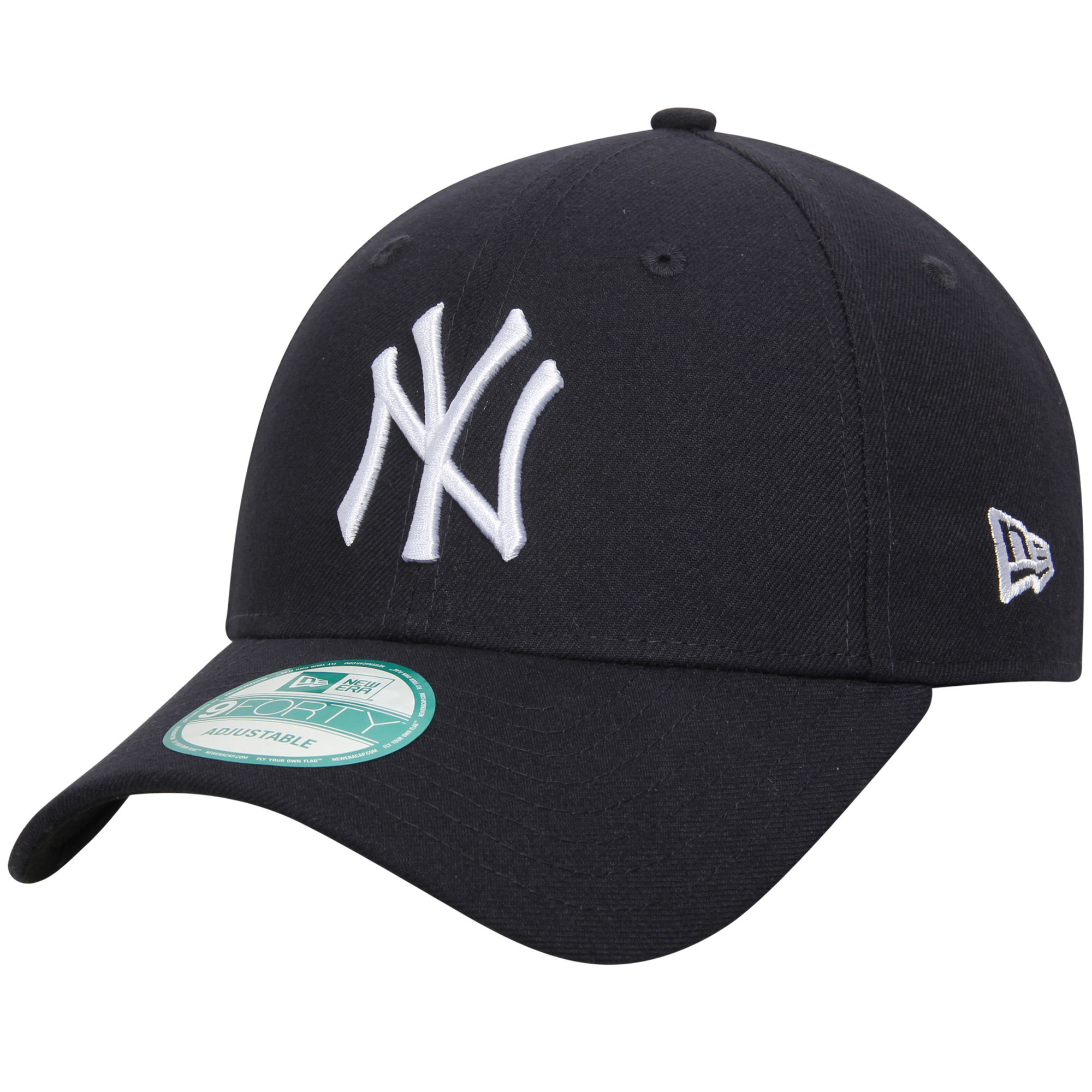 New York Yankees New Era Men's League 9Forty Adjustable Hat - Navy - OSFA