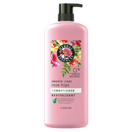 Herbal Essences Smooth Collection Conditioner with Rose Hips & Jojoba Extracts, 33.8 fl (The Best Deep Conditioner For Natural Hair)