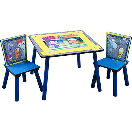 Handy Manny Table and Chairs Set Walmartcom