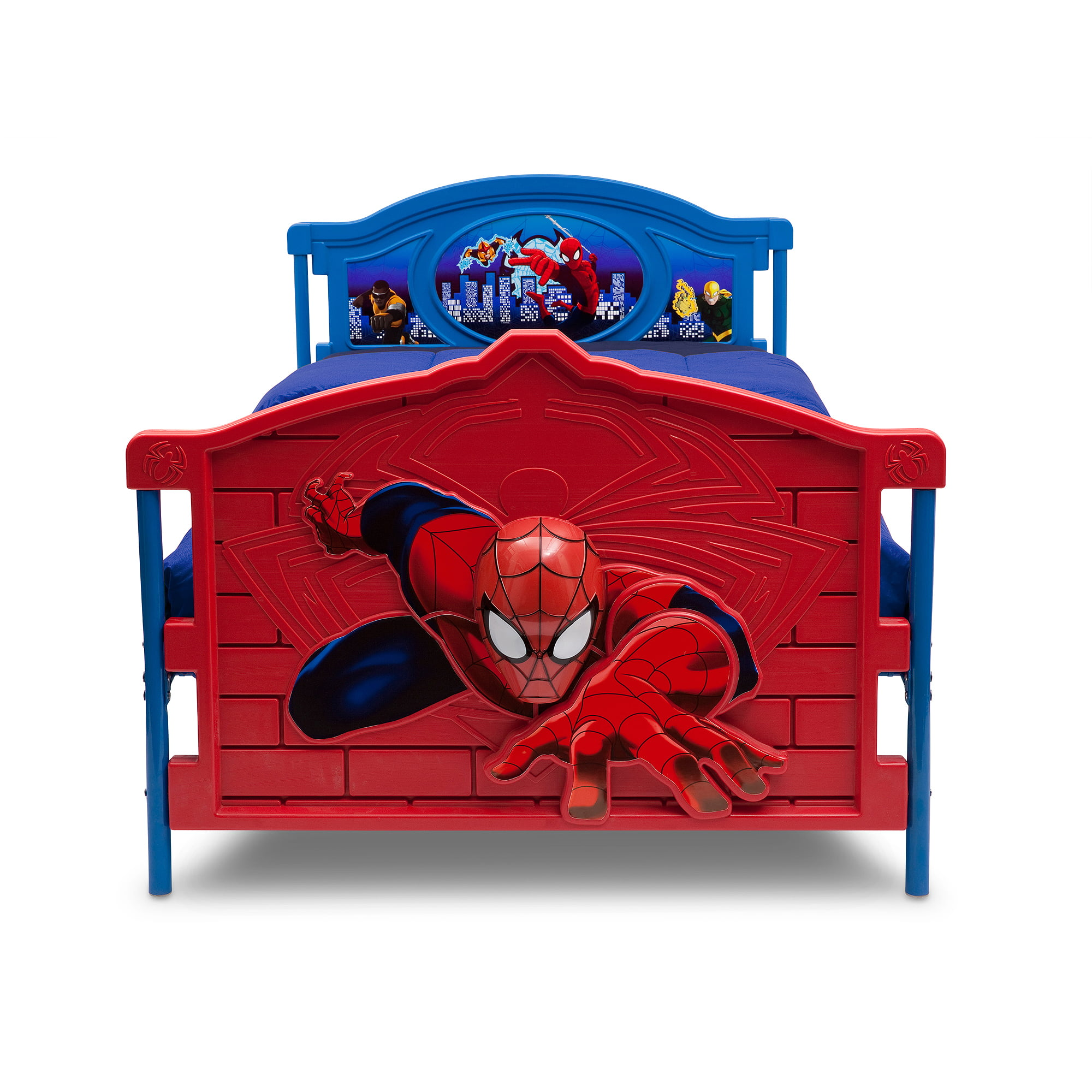 sc 1 st  Walmart & Marvel Spider-Man 3D Twin Bed - Walmart.com