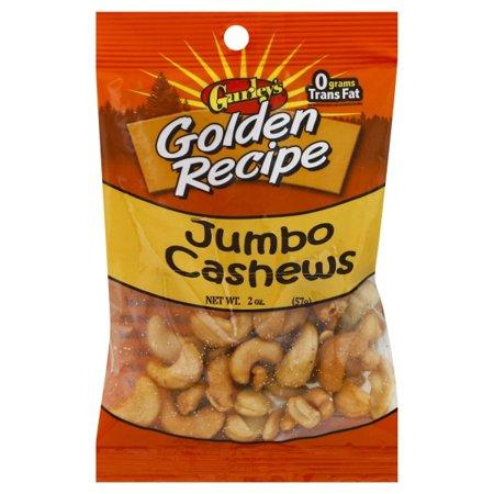07606 2 Oz Jumbo Cashews(2.25Oz), Gurley