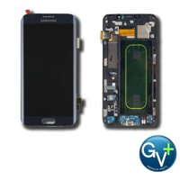 OEM Touch Screen Digitizer and AMOLED with Frame for Samsung Galaxy S6 Edge Plus - Black Sapphire (SM-G928V)