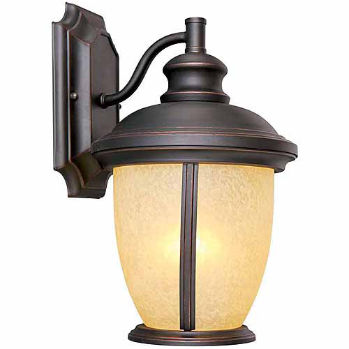 "Design House 517599 Bristol Outdoor Downlight, 8"" x 13.5"", Oil Rubbed Bronze Finish"